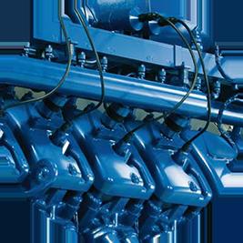 dily a material pro kogeneracni jednotky