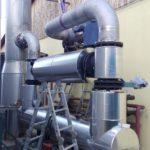 montáž spalinovodu AWT