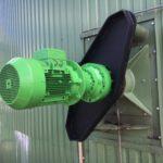 pomaluběžné pádlové míchadlo - pohon a planetová převodovka Binfiglioli