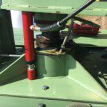demontáž planetové převodovky míchadla bioplynové stanice